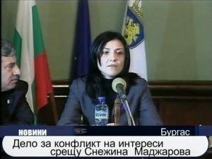 Дело за конфликт на интереси срещу Снежина Маджарова