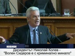 Дисидентът Николай Колев -
