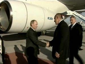 Руският премиер Путин посети България