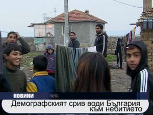 Демографският срив води България към небитието