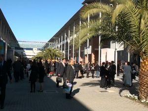 Български щанд на международното изложение в Мадрид