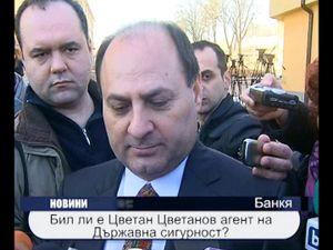 Бил ли е Цветан Цветанов агент на Държавна сигурност?