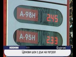 Ценови шок с дъх на петрол