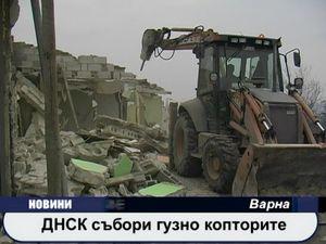 ДНСК събори гузно копторите