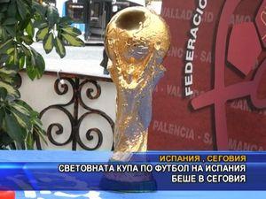 Световната купа по футбол беше в Сеговия