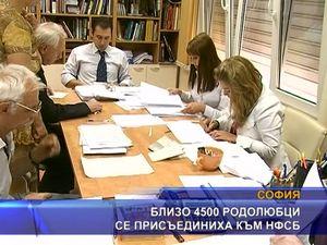 Близо 4 500 родолюбиви българи се присъединиха към НФСБ
