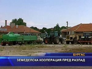 Земеделска кооперация пред разпад