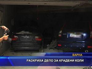 Разкриха депо за крадени коли