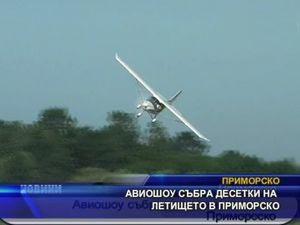 Авиошоу събра десетки на летището в Приморско