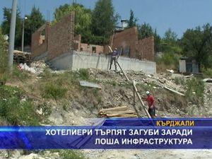 Хотелиери търпят загуби заради лоша инфраструктура
