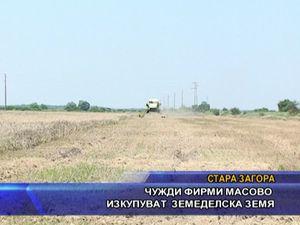 Чужди фирми масово изкупуват земеделска земя