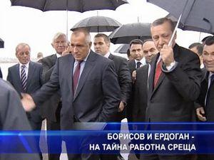 Борисов и Ердоган на тайна работна среща