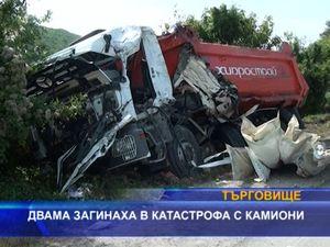 Двама загинаха в катастрофа с камиони