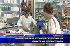 Инфлацията в Испания се дължи на цените на лекарствата