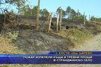 Пожар изпепели къща и тревни площи в странджанско село