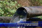 Минерална вода в изобилие за здраве и бизнес