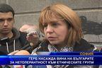 ГЕРБ вменява на българите нетолерантност към етническите групи