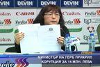 Министър на ГЕРБ прикрил корупция за 14 млн. лева