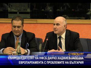 Данчо Хаджиев запозна Европарламента с проблемите на България
