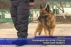 Полицейско куче спаси човешки живот