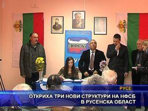 Откриха три нови структури на НФСБ в Русенска област