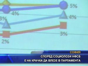 Според социолози НФСБ е на крачка да влезе в парламента