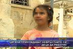 Цигани принуждават невръстните си деца да работят