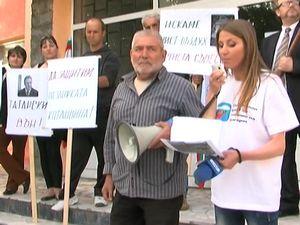 Протест срещу изграждане на сметище