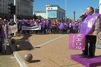 Служители на БГ пощи излязоха на протест