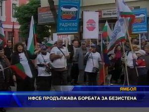 НФСБ продължава борбата за Безистена