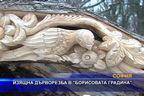 Изящна дърворезба в Борисовата градина