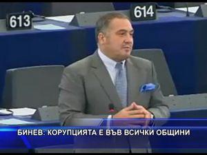 Бинев: Корупцията е във всички общини