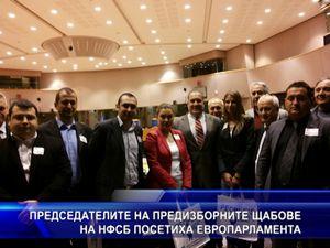 Председателите на предизборните щабове на НФСБ посетиха ЕП