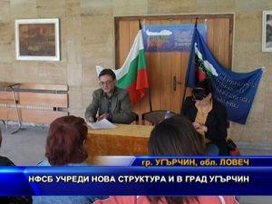 НФСБ учреди нова структура и в град Угърчин