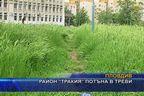 """Район """"Тракия"""" потъна в треви"""