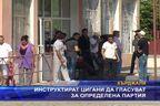 Инструктират цигани да гласуват за определена партия
