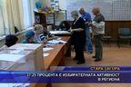 37,25 процента е избирателната активност в региона