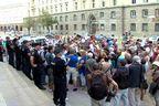 Протест на вложителите в Корпоративна търговска банка