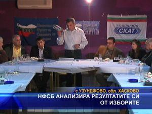 НФСБ анализира резултатите си от изборите