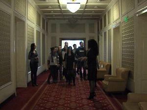 Ученици посетиха парламента по покана на Патриотичния фронт