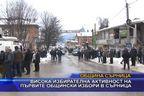 Висока избирателна активност на първите общински избори в Сърница