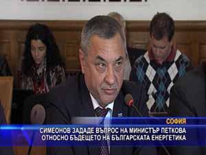 Симеонов зададе въпрос за бъдещето на българската енергетика