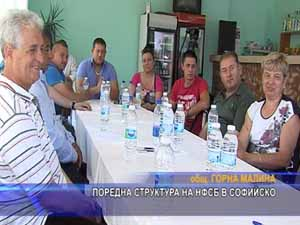 Поредна структура на НФСБ в Софийско