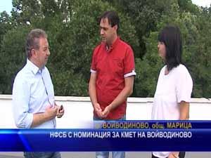 НФСБ с номинация за кмет на Войводиново