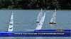 Яхти в състезание по корабомоделизъм