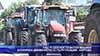 Над 70 селскостопански машини блокираха движението по пътя Пловдив - Карлово