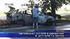 Автомобил изгоря в движение в центъра на Варна