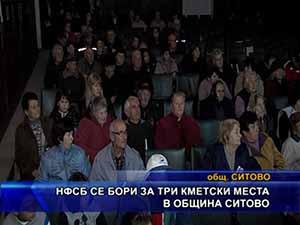 НФСБ се бори за три кметски места в община Ситово