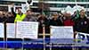 """Сектор """"Сигурност"""" на национален протест пред народното събрание"""