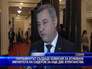 Парламентът създаде комисия за отнемане имунитета на Сидеров за още две хулиганства